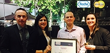 Roche et Sourcing Force sont devenus lauréats au trophée Décision Achats