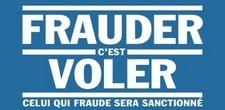 A ne surtout pas oublier :  Frauder c'est voler ! Et c'est risquer la sanction !