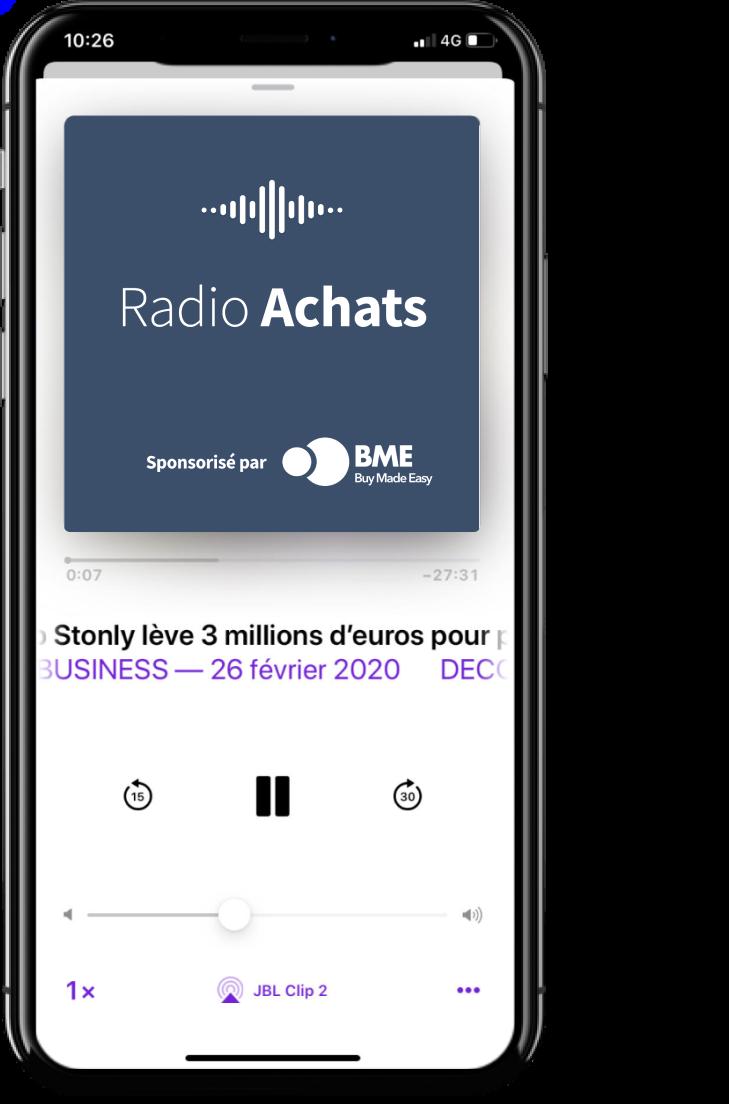 Podcast Radio Achats